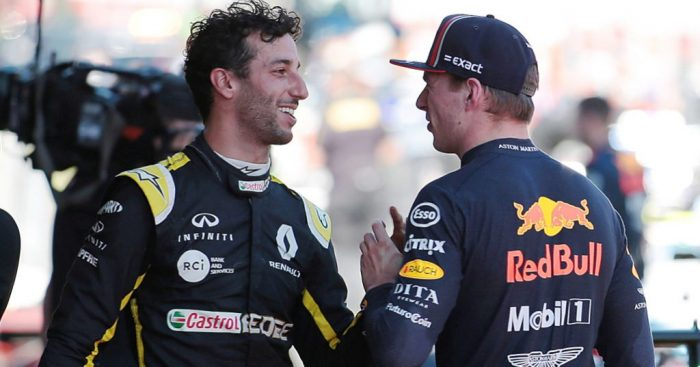 Daniel Ricciardo 'proud' of keeping Max Verstappen from youngest pole