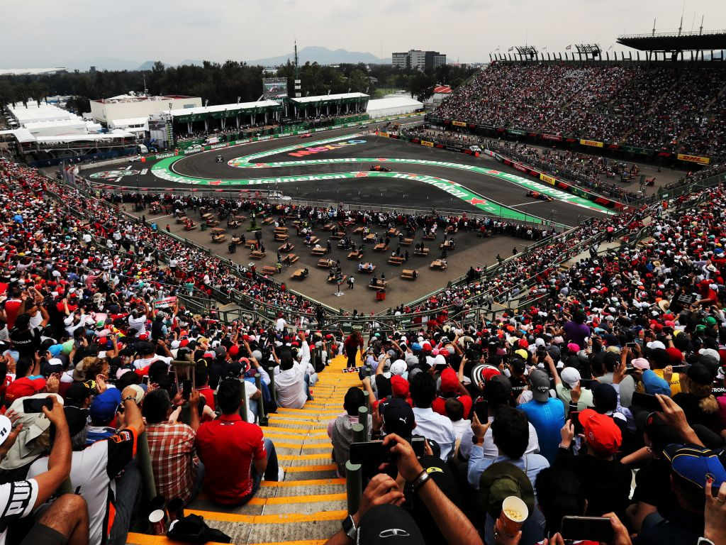 Mexican Grand Prix gets a new deal until 2022.