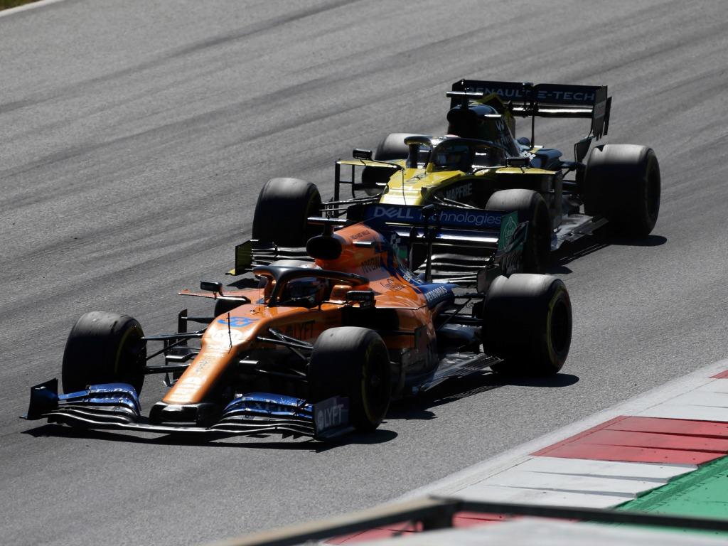 Carlos Sainz Renault McLaren