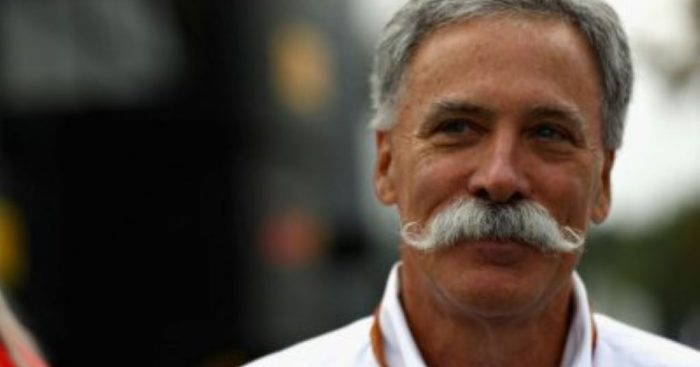Chase Carey says he expects the 2020 calendar to be announced in a few weeks.