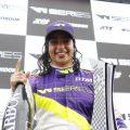 "W series driver Jamie Chadwick wants to make it to Formula 1 on ""merit""."