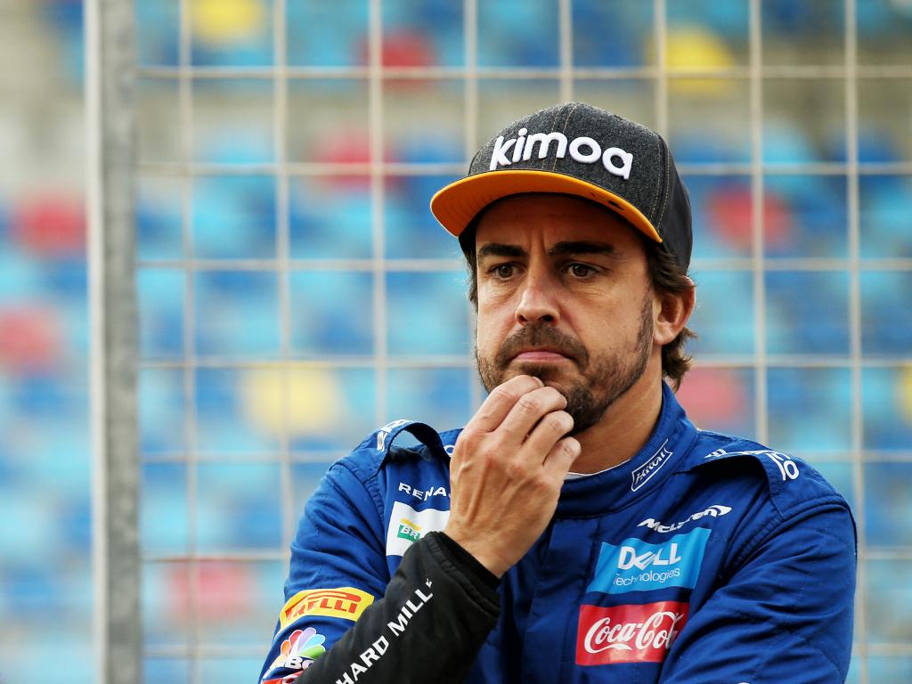Fernando Alonso ponderous