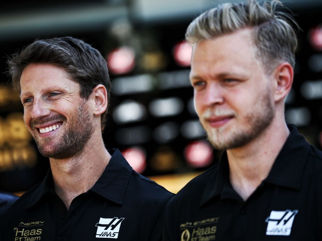 Romain Grosjean and Kevin Magussen's Haas future up in the air