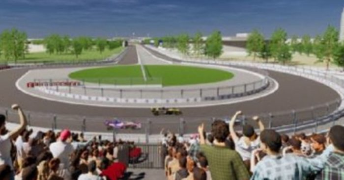 Mock released pic of Vietnam Grand Prix circuit