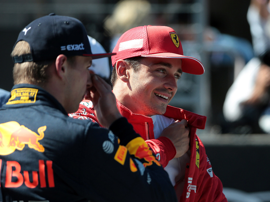 Charles Leclerc 'wouldn't even say goodbye' to Max Verstappen