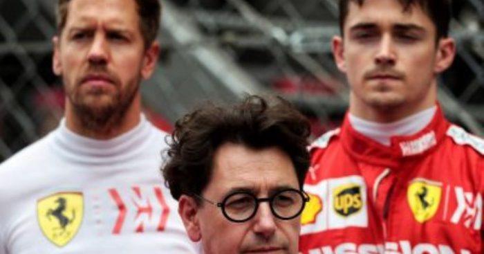Mattia Binotto eyeing Ferrari win at Spa, but knows it won't be easy.
