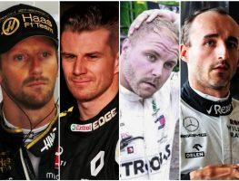 Grosjean-Hulkenberg-Bottas-Kubica