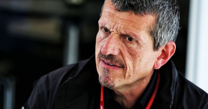 Guenther Steiner sharing his views