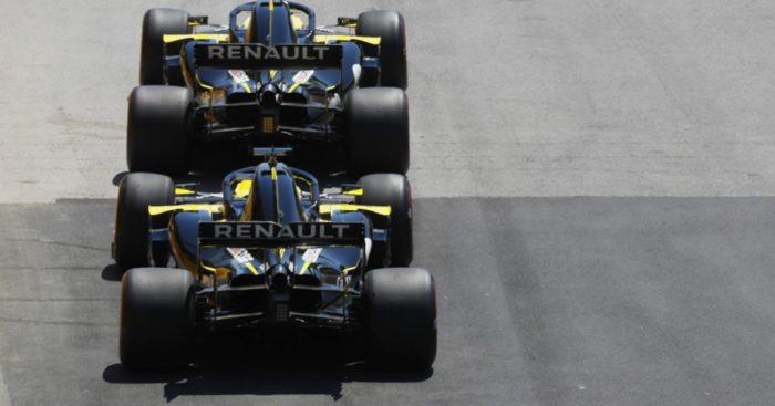 Pressure eased on Renault after Italy result says Alain Prost.