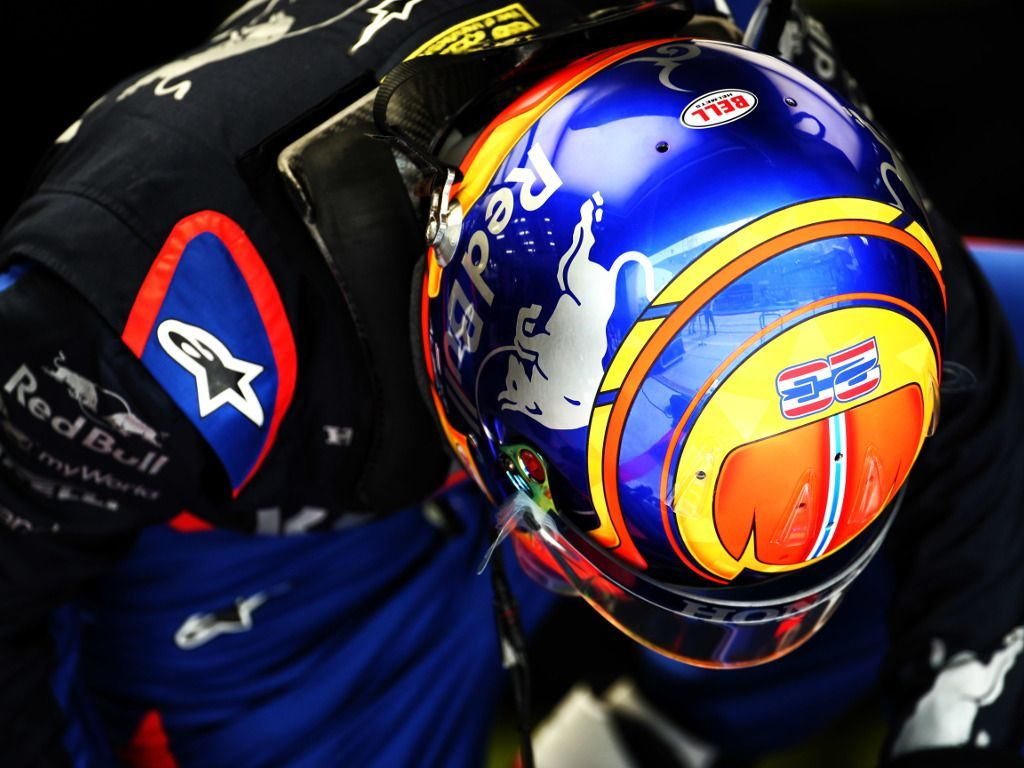 Grid penalty for Alex Albon on Red Bull debut