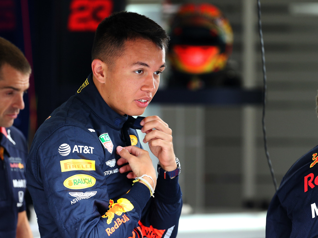 Alexander Albon concedes Red Bull promotion a bit 'early'