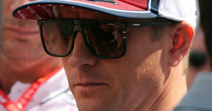 Kimi Raikkonen confirms leg injury, will evaluate in FP1