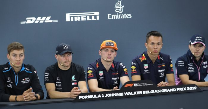 Thursday's FIA press conference: Belgium GP