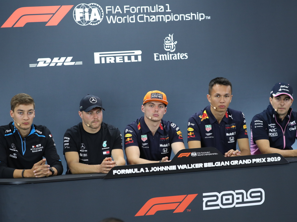Thursday's FIA press conference: Belgium GP