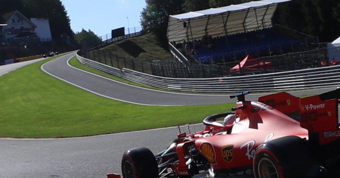 FP1: Sebastian Vettel powers his way to P1 at Spa