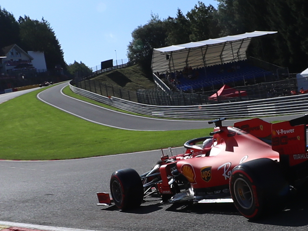 FP1: Sebastian Vettel powers his way to P1 at Spa