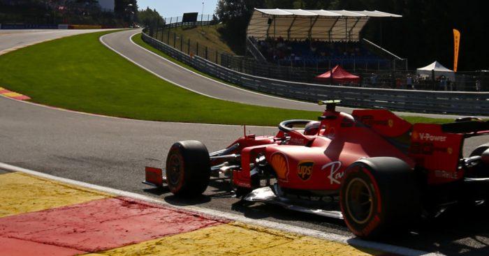 Qualy: Ferrari on pole