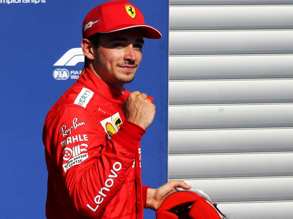 """Charles Leclerc says his final run """"felt amazing"""" as he stormed to pole for the Belgian Grand Prix."""