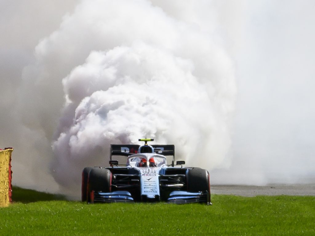 Robert Kubica didn't suspect an engine failure was incoming during qualifying for the Belgian Grand Prix.
