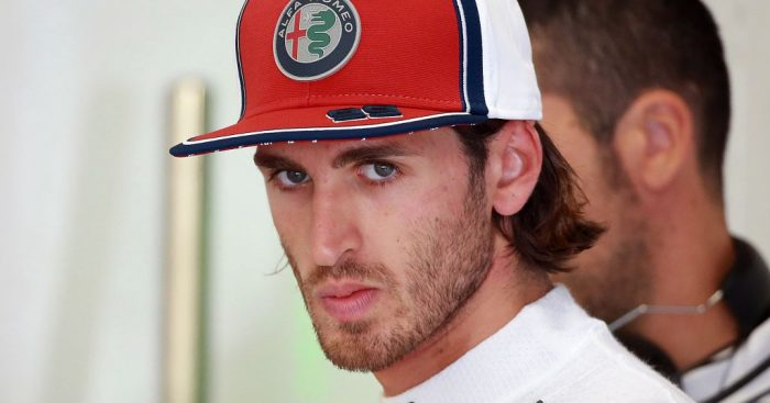 "Antonio Giovinazzi claimed ""bad luck follows me"" after his engine failure in qualifying for the Belgian GP."