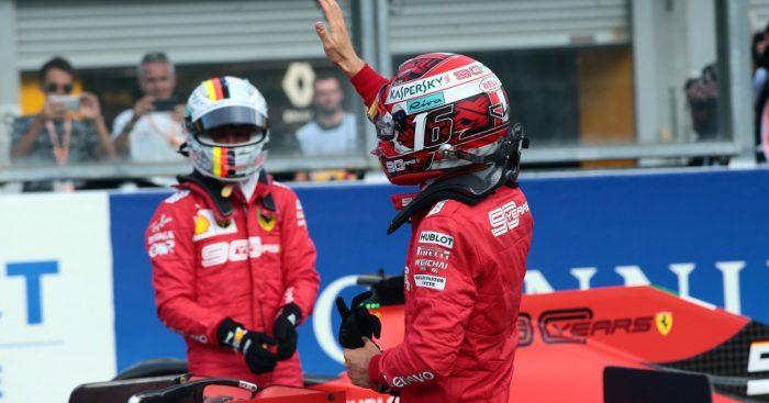 The provisional Belgian Grand Prix grid