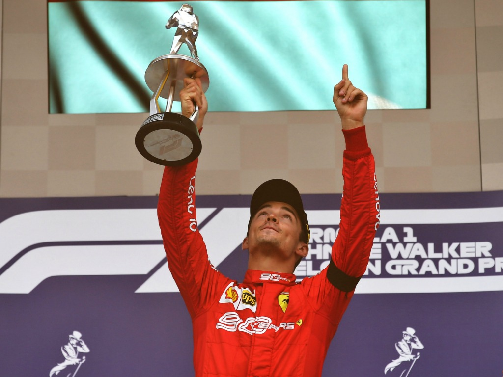 Race: Charles Leclerc breaks his duck with Belgian win