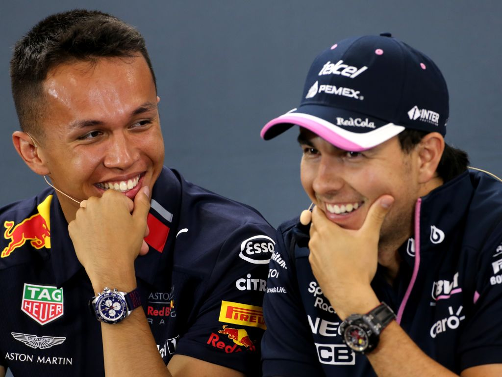 Alex Albon and Sergio Perez cleared by the stewards over their last-lap battle over P5 in Spa.