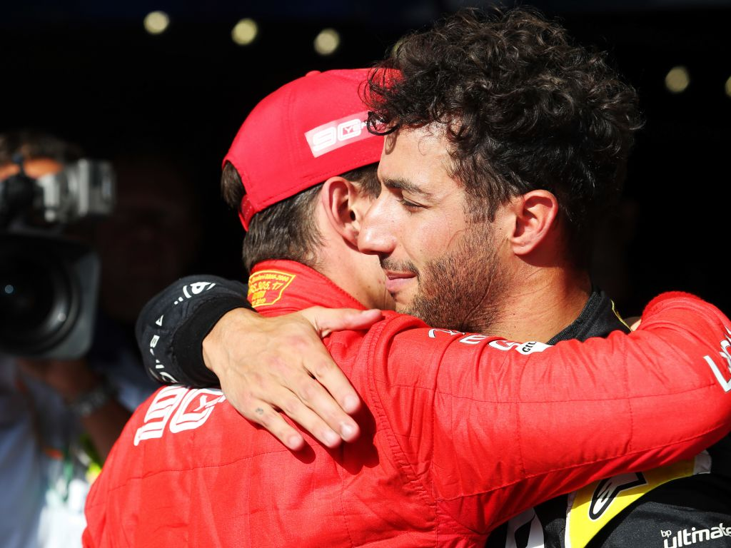Daniel Ricciardo questioned whether he wanted to compete in the Belgian GP following Anthoine Hubert's death.