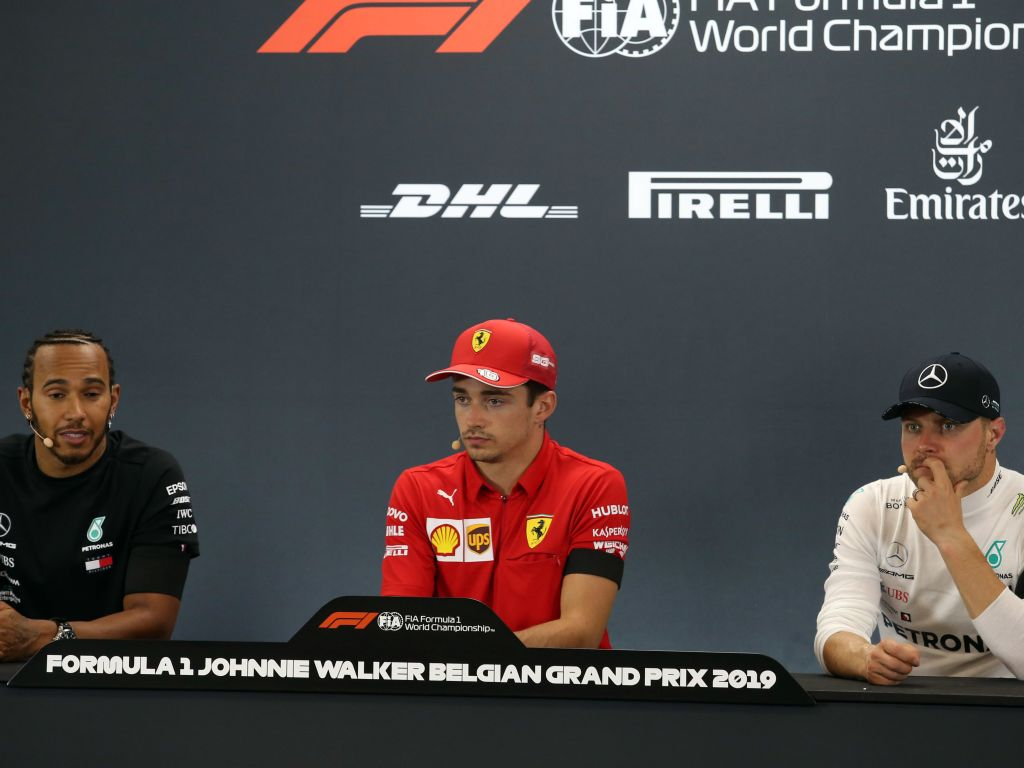 FIA post-race press conference - Belgian GP.