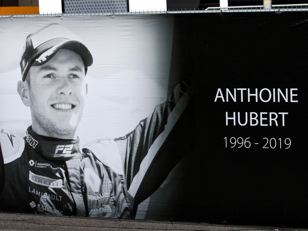 The motorsport family went racing for Anthoine Hubert.