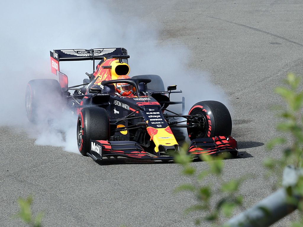 Red Bull were running the pre-France Honda Spec 2 engine in qualifying and the race in Belgium.
