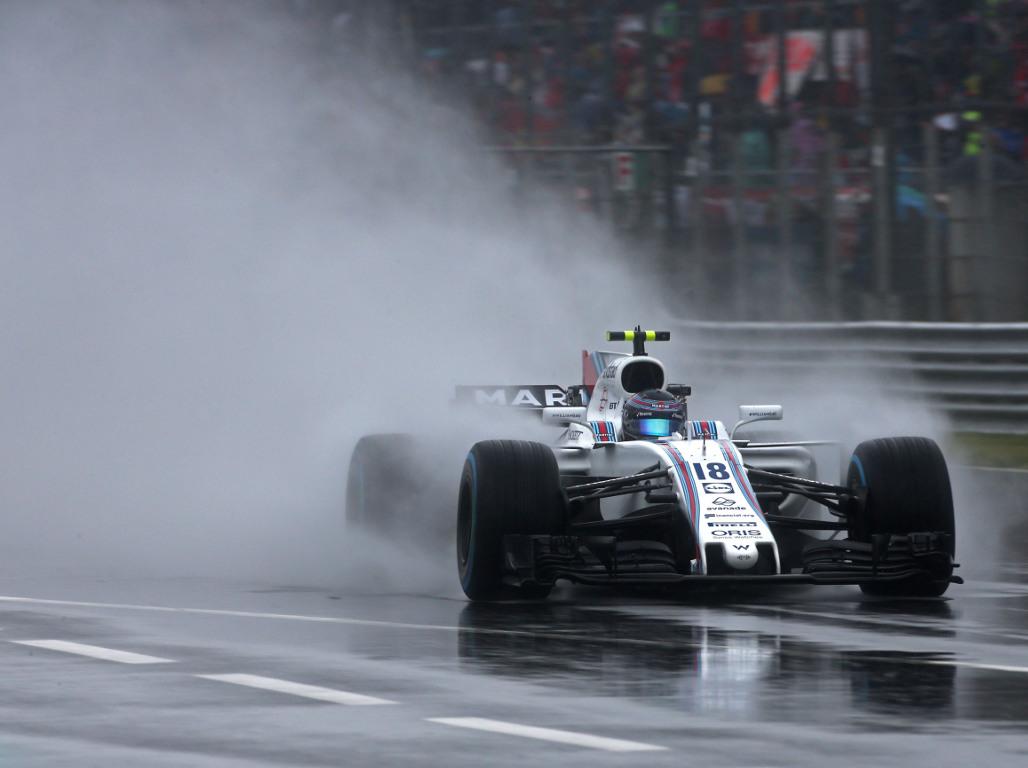 Wet Italian GP on the cards