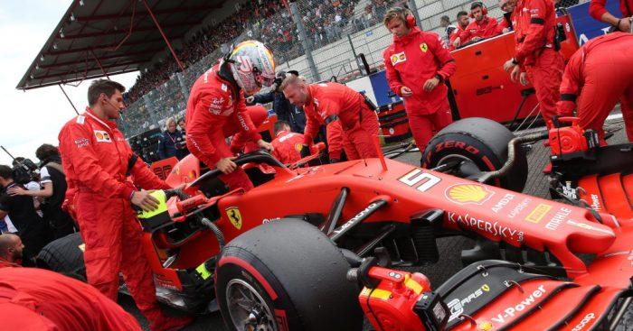 Sebastian Vettel can't explain lack of pace to Leclerc