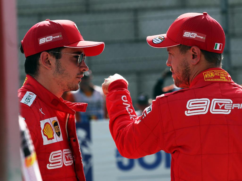 Sebastian Vettel is 'not a number 2' says former boss