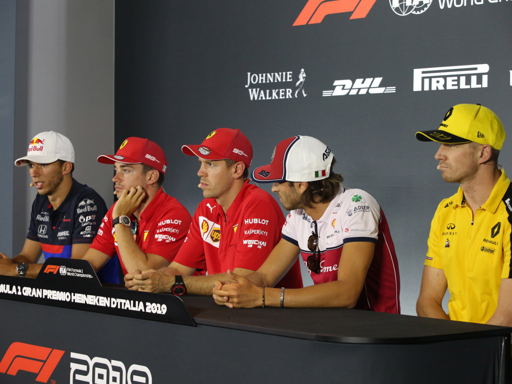 Thursday's driver press conference: Italy