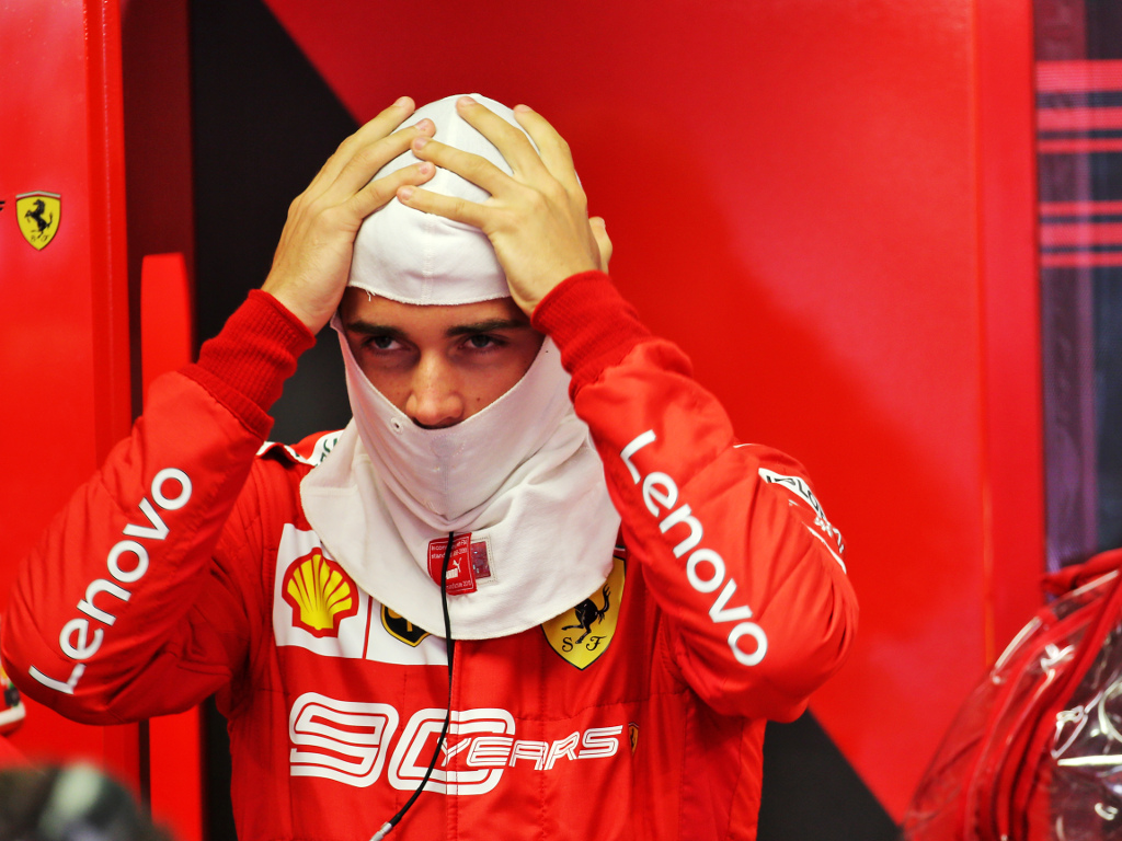 FP1: Charles Leclerc quickest at a damp Monza circuit