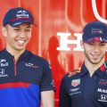 Alexander-Albon-and-Pierre-Gasly-prior-to-swap