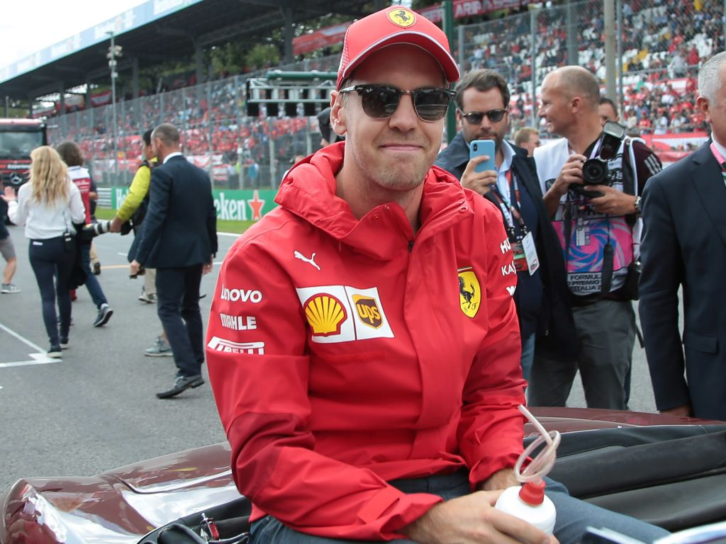 Sebastian Vettel only three penalty points away from a one-race ban.