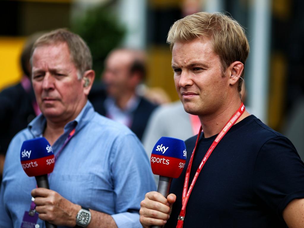 Martin Brundle Nico Rosberg Sky F1