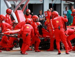 Sebastian Vettel 'couldn't see anything' to his left