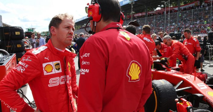Sebastian Vettel adamant he's 'not worried' about form