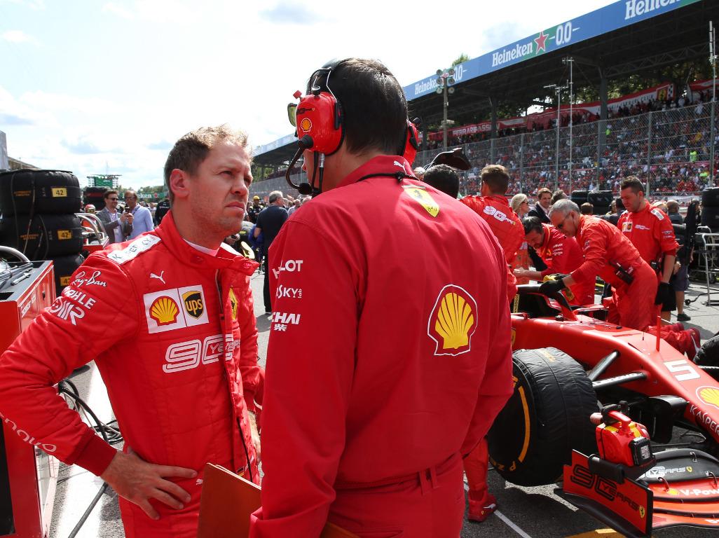Sebastian Vettel adamant he's 'not worried' about form