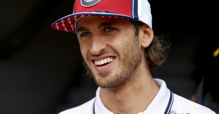 "Antonio Giovinazzi says his new contract gives him a ""big confidence boost"" heading into the Brazilian GP."