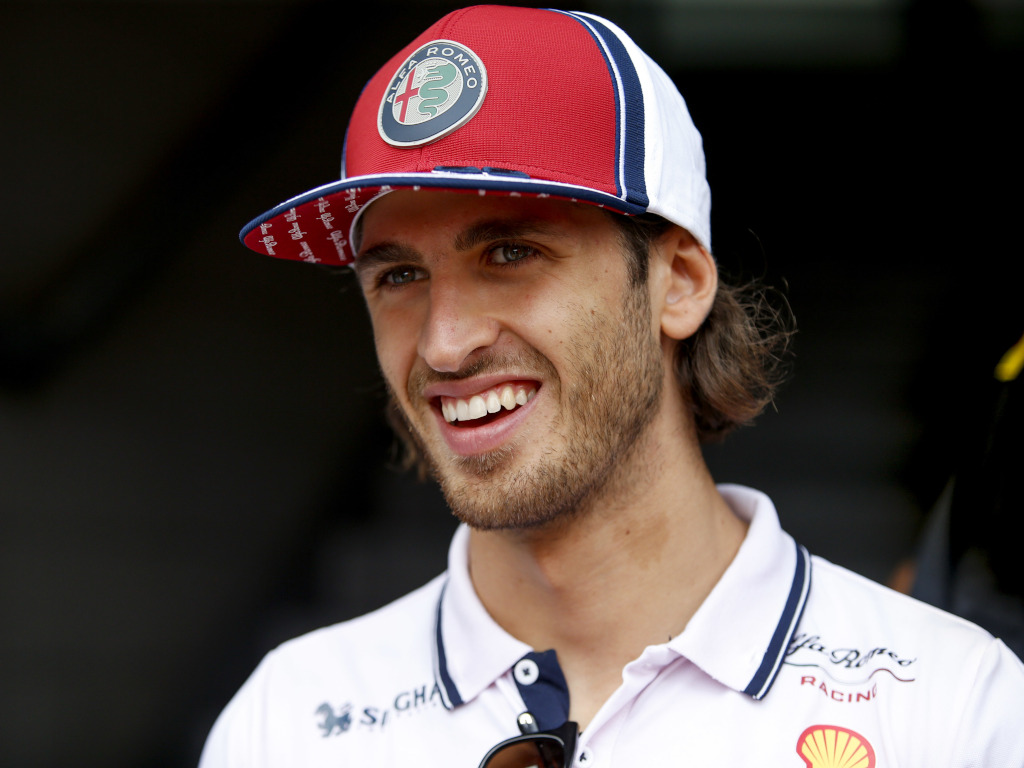 Antonio Giovinazzi has a 'chance' at 2021 Ferrari drive