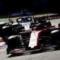 Charles-Leclerc-leads-Lewis-Hamilton-PA