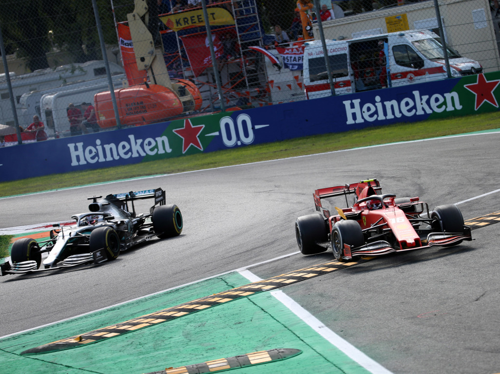 JV: Charles Leclerc did a Magnussen on Hamilton
