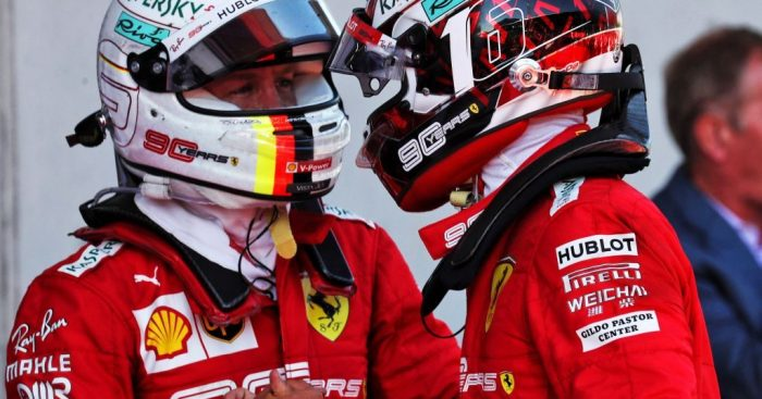 Gerhard Berger warns Sebastian Vettel: You can never rely on Charles Leclerc