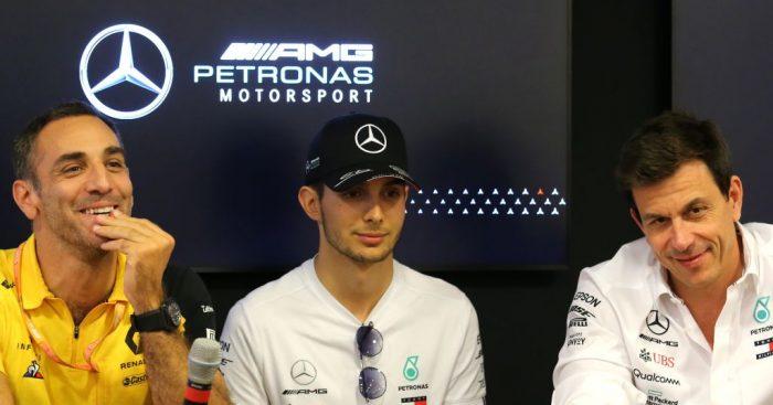 Mercedes didn't lose trust in Renault following their snub of Esteban Ocon in 2018.