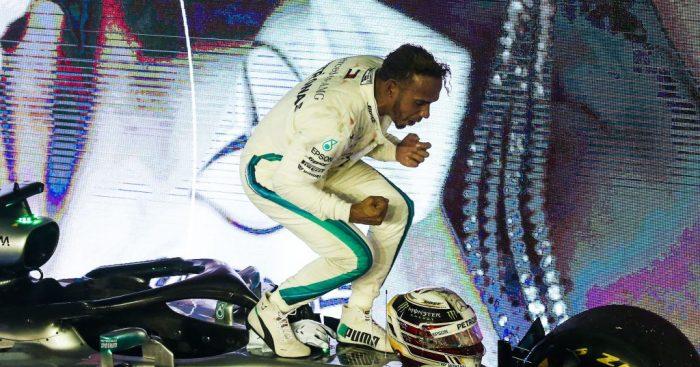 "Lewis Hamilton has ""no idea"" if Ferrari will be strong in Singapore."