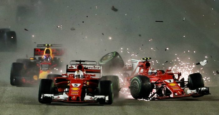 Five classic moments from the Singapore Grand Prix